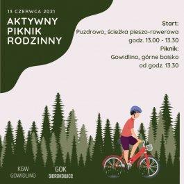 Aktywny Piknik Rodzinny 13 czerwca Puzdrowo - Gowidlino