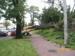 Komunikat dla mieszkańców i właścicieli nieruchomości z terenu gminy Sierakowice dotkniętych skutkami huraganu i deszczu w dn. 11 sierpnia 2017r.