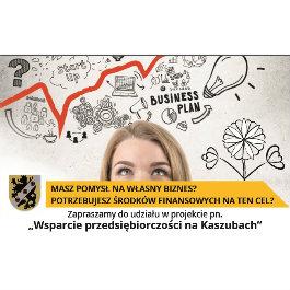 """Projekt pn. """"Wsparcie przedsiębiorczości na Kaszubach"""""""