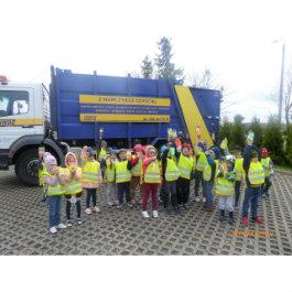 Przedszkolaki z Sierakowic z wizytą na PSZOK-u