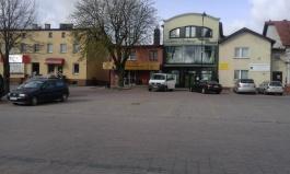 Przebudowa parkingu w centrum Sierakowic