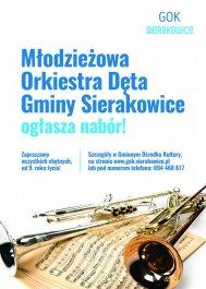 Młodzieżowa Orkiestra Dęta ogłasza nabór!